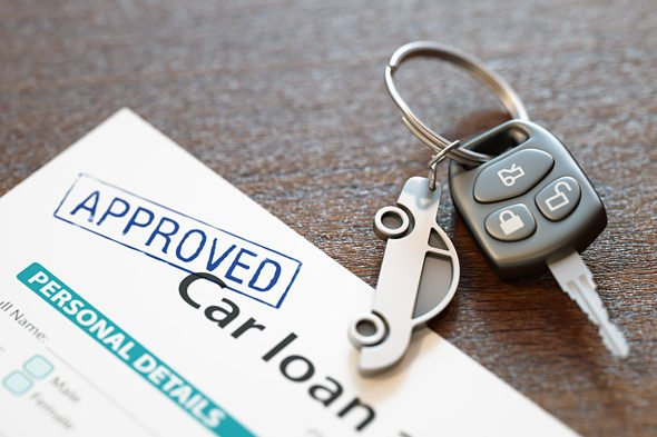 approved car loan form