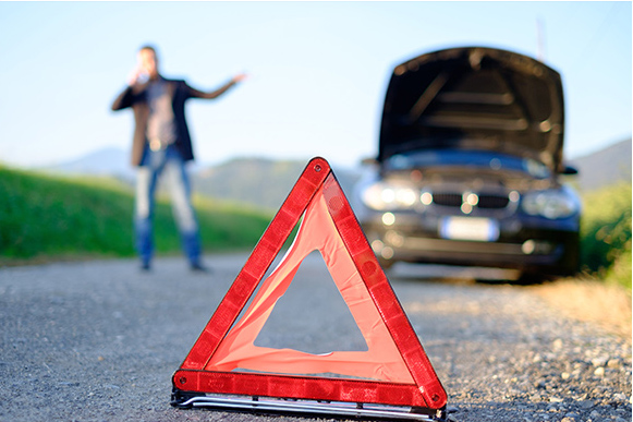 car defects and warning sign